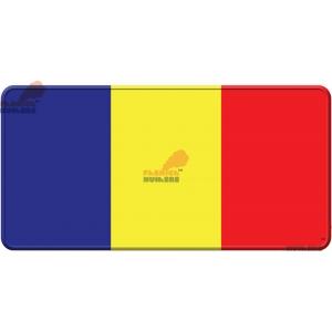 Placa cu tricolor Romania