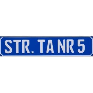 Placa de strada standard