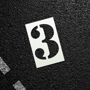 Sablon - numere parcare