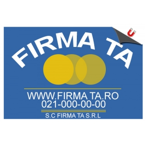 Stickere magnetice Firma Taxi