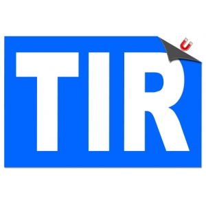 Stickere magnetice TIR