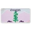 Placa format SUA Oregon
