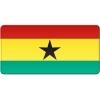 Placa steag Ghana