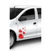 Stickere auto inimioare