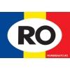 Sticker dreptunghiular cu RO